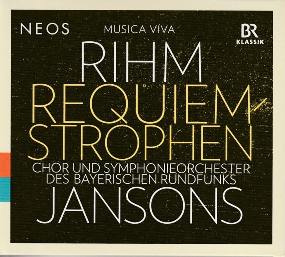 CD Cover - Requiem-Strophen