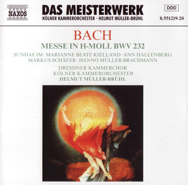 CD Cover - Messe in H-Moll