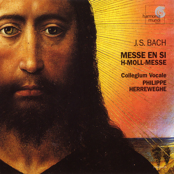 CD Cover - Messe en si H-Moll-Messe
