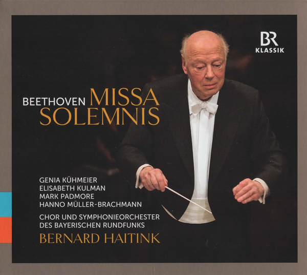 CD Cover - Missa Solemnis