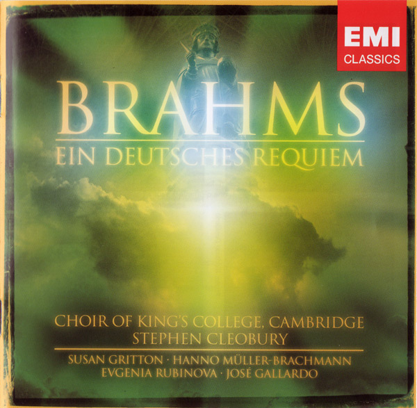 CD Cover - Ein deutsches Requiem