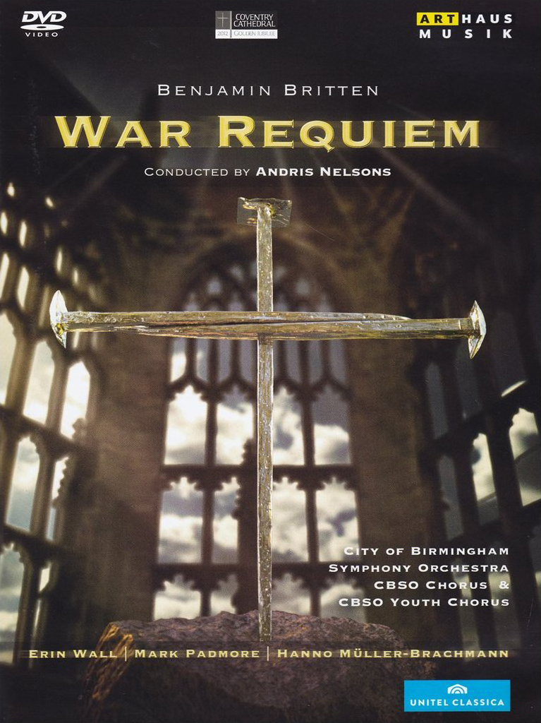 CD Cover - War Requiem