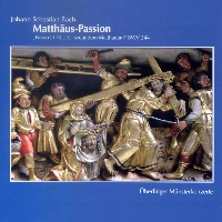 CD Cover - Matthäus-Passion