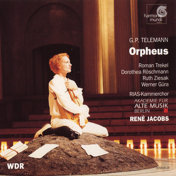 CD Cover - Orpheus