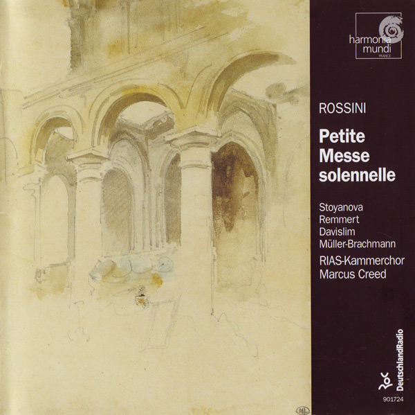 CD Cover - Petit Messe solennelle